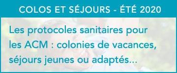 Protocole sanitaire ACM