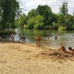 Centre de vacances Lac Chauvin - Baignade en colo