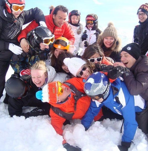 Colo «Ski alpin» à Chatel