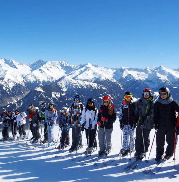 Colo ski alpin à St Gervais Mont Blanc