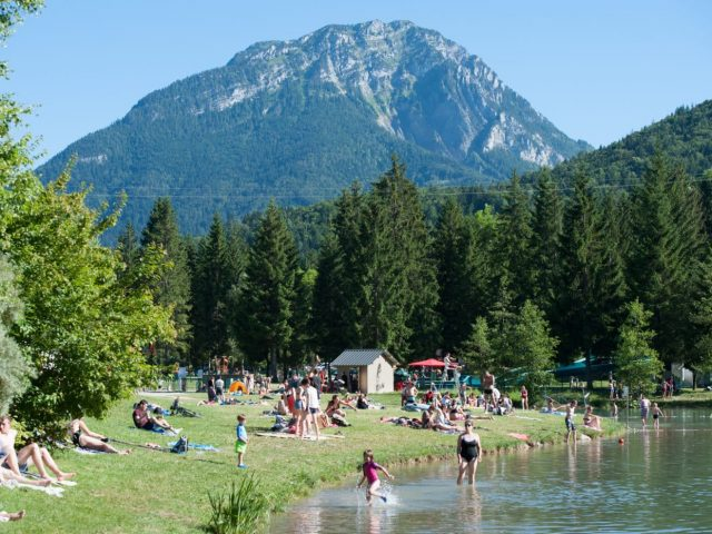 L'Île du Chéran – Camping, Savoie