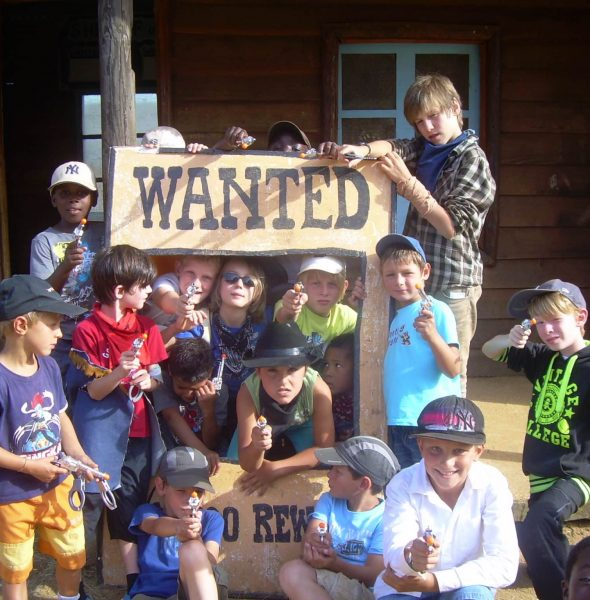 Colonie de vacances au Far-West ! whaouhhh ! 6/13 ans