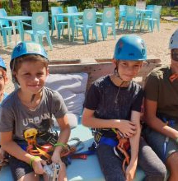 Colonie de vacances 100 % Fun & Nature en Aveyron
