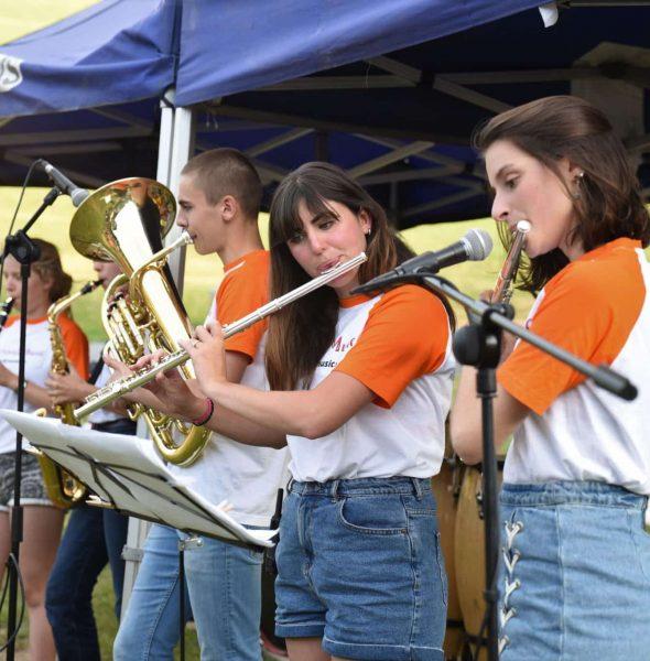 Séjour «Rencontre internationale de musiciens». Ados 14/17 ans.