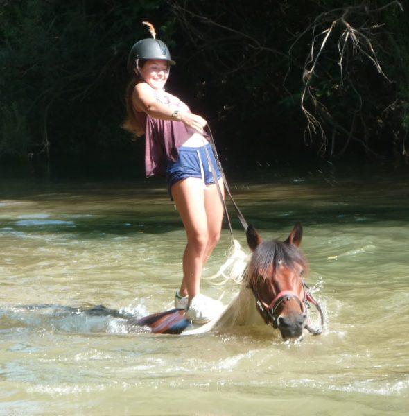 Colo «Equitation et nage à cheval» – 6 à 17 ans
